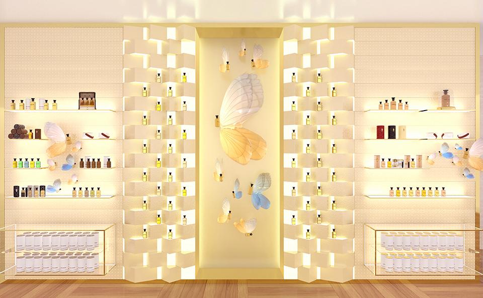 Louis Vuitton LVMH Concept Fragrance